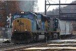 CSX 4768 leading Q438